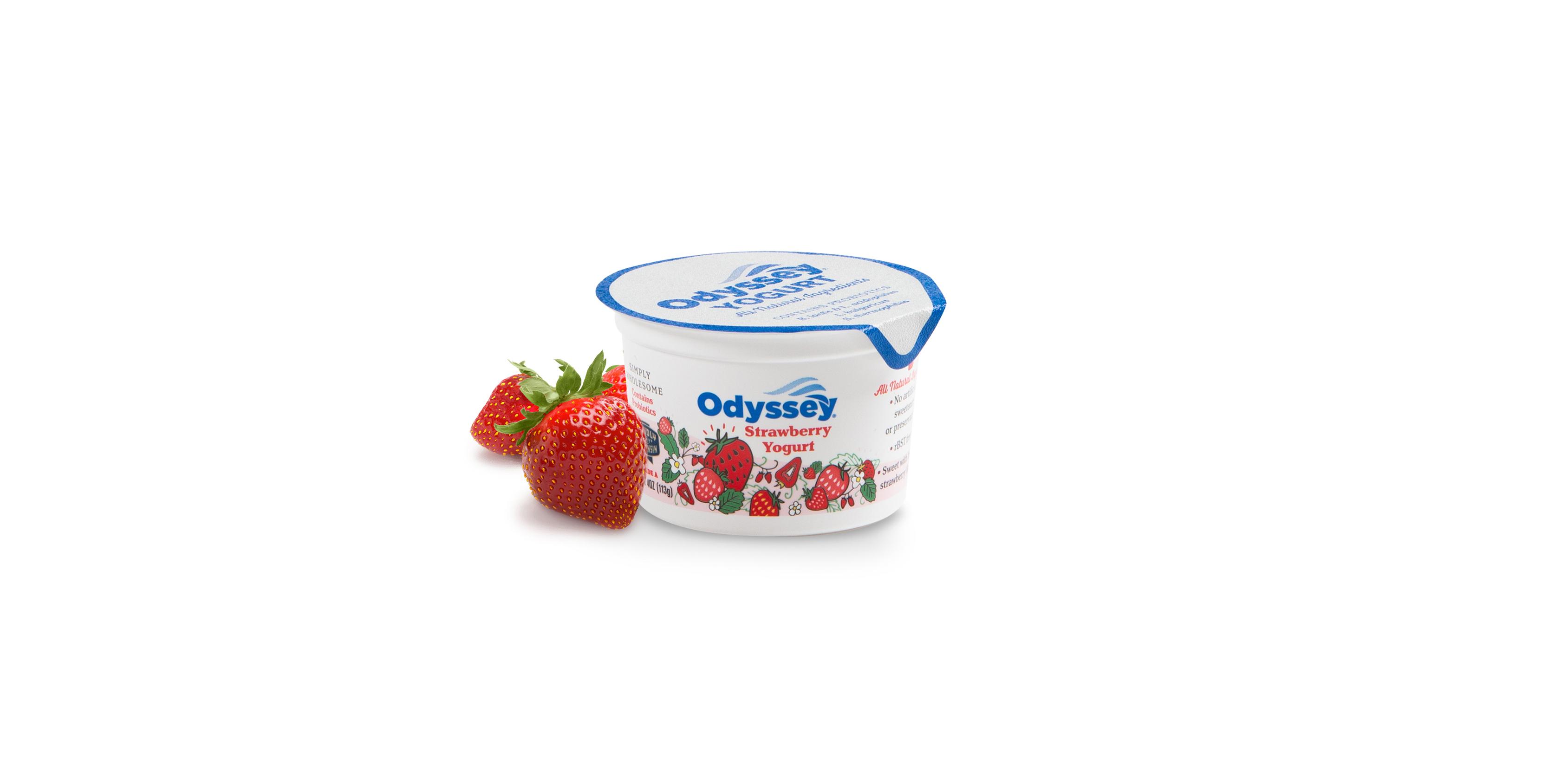 4oz Strawberry with Fruit